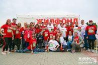 Команда «Жилфонда» приняла участие в «Зелёном марафоне»