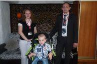 Оказана помощь семье Павликовых