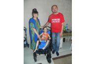 Оказана помощь семье Калюженых